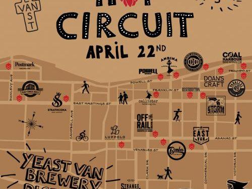 Yeast Van Brewery District - Hop Circuit
