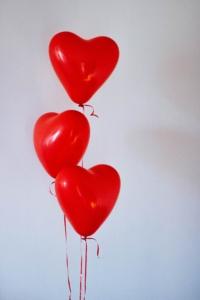 Heart Love Ballons Valentine